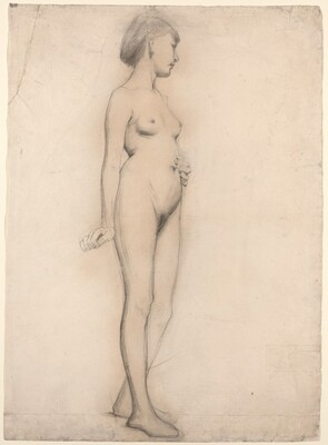 Standing Nude Girl