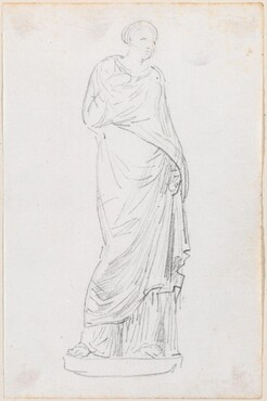 Statue of a Female in a Toga