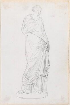 Statue of a Female in a Toga