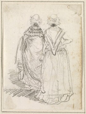 Two Women Seen from Behind