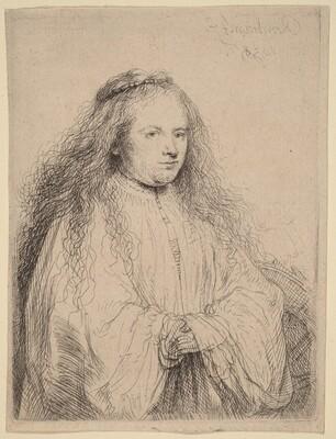 The Little Jewish Bride (Saskia as Saint Catherine)