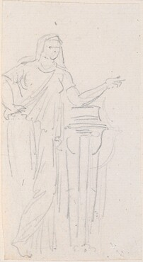 Statue of a Vestal Virgin