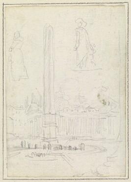The Obelisk in Saint Peter's Square