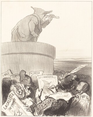 Le Constitutionnel contemplant l'horizon politique