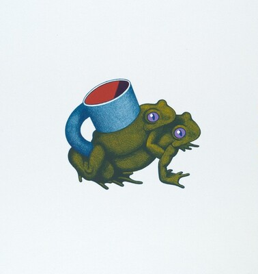 Double Frog Cup