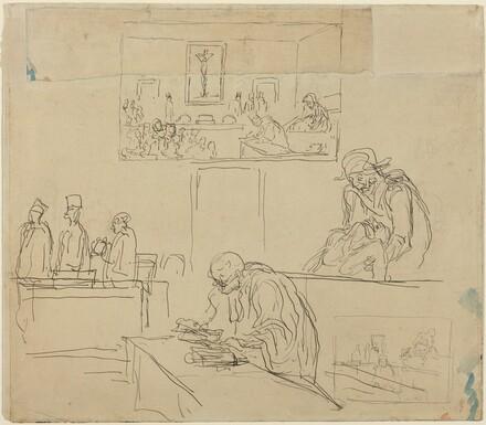 Scene of the Tribunal (The Verdict)