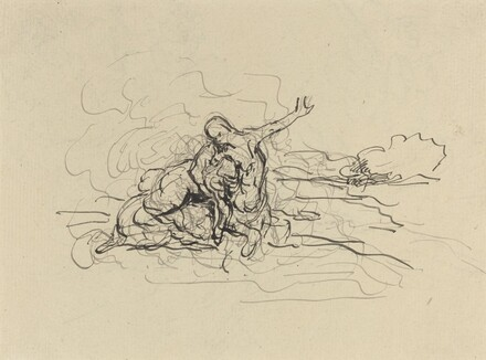 Centaur Carrying Off a Woman