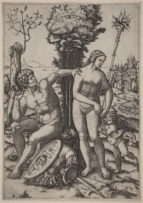 Mars, Venus, and Eros