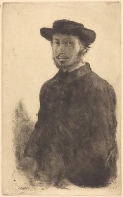 Self-Portrait (Edgar Degas, par lui-même)