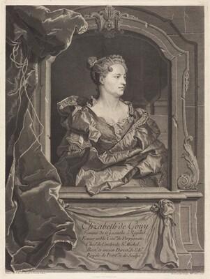 Elizabeth de Gouy, femme de Hyacinthe Rigaud