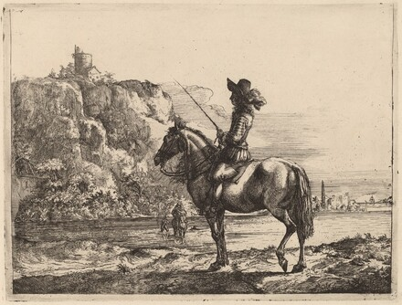 River Landscape with Horseman