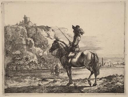 River Landscape with Horseman