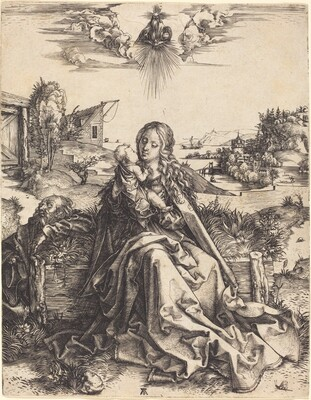 The Holy Family with the Mayfly