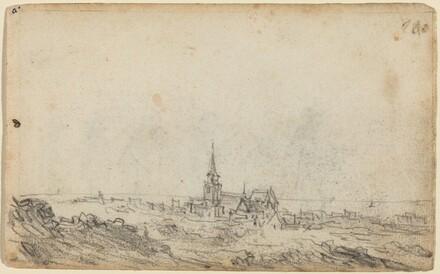 View of Scheveningen [recto]