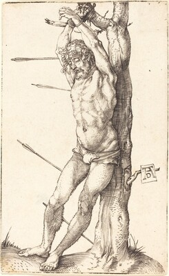 Saint Sebastian Bound to the Tree
