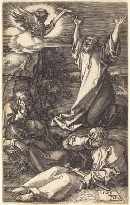 Christ on the Mount of Olives