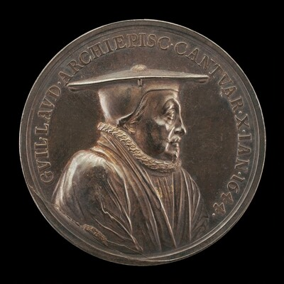 William Laud, 1573-1645, Archbishop of Canterbury 1633 [obverse]