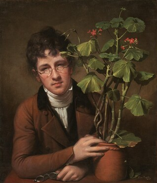 Rembrandt Peale, Rubens Peale with a Geranium, 18011801