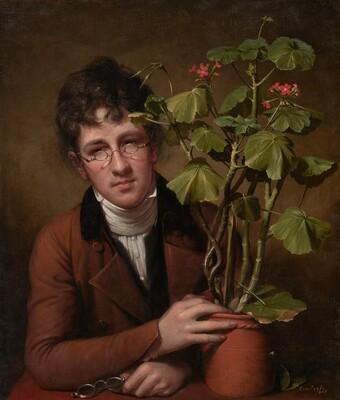 Rubens Peale with a Geranium