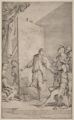 Alexander in the Studio of Apelles