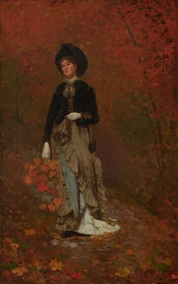 Winslow Homer, Autumn, 1877
