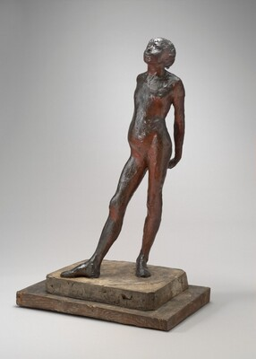 Study in the Nude of Little Dancer Aged Fourteen (Nude Little Dancer)