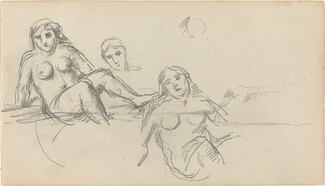 Seated Bather [verso]