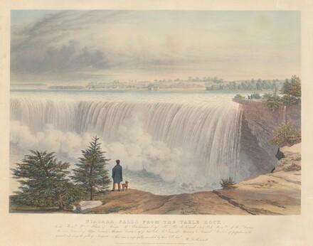 Niagara Falls from the Table Rock
