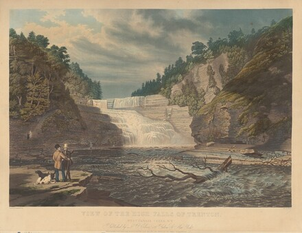 View of the High Falls of Trenton: West Canada Creek, N.Y.