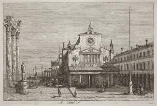 Imaginary View of S. Giacomo di Rialto [upper right]