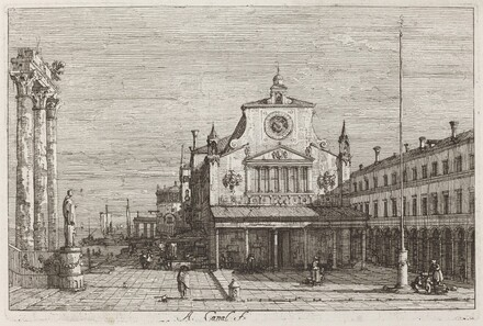 Imaginary View of S. Giacomo di Rialto [upper right]