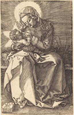 The Virgin Nursing the Child