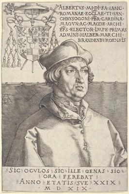 Cardinal Albrecht of Brandenburg (Small Cardinal)