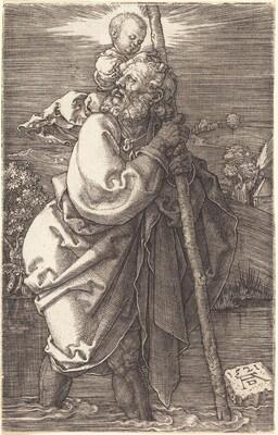 Saint Christopher Facing Left
