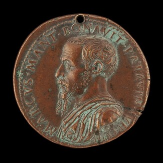 Marco Mantova Benavides, 1489-1582, Lawyer and Collector [obverse]