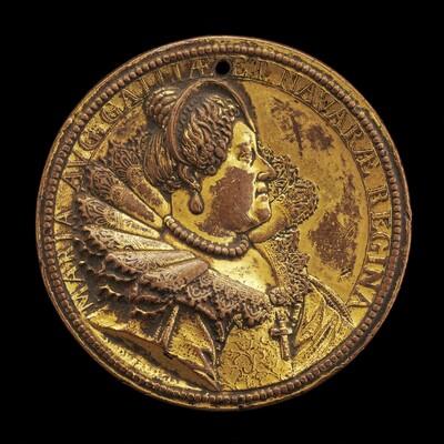 Marie de' Medici, 1573-1642, Queen Regent of France 1610-1617 [obverse]