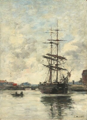 Ship on the Touques