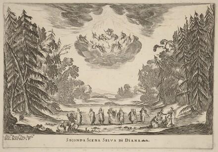 Seconda Scena Selva di Diana
