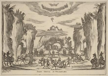 Scena Grotto d'Vulcano