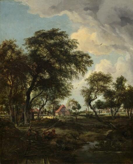 A Farm in the Sunlight