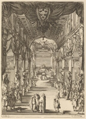 Funeral of Prince Francesco de Medici