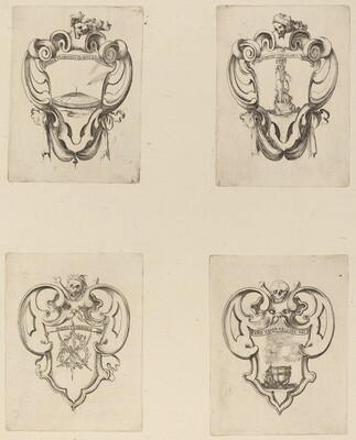 Four Emblems for the Funeral of Prince Francesco de Medici