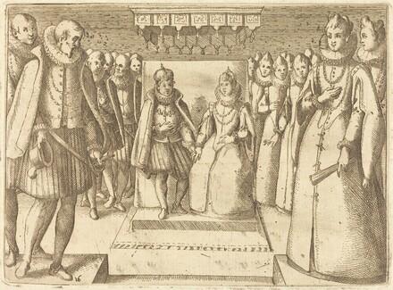 Meeting of Margaret of Austria and Philip III