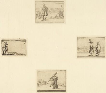Sheet of Etchings
