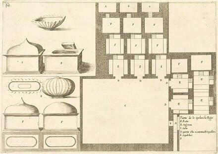 Plan of the Spelunche Regee