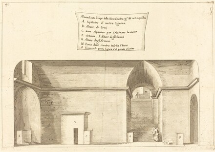 Elevation of the Church of the Holy Sepulchre