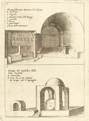 Elevations of the Holy Manger and the Sepulchre of Rachel