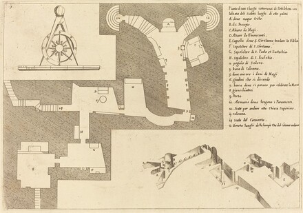 Plan of All the Important Places in Bethlehem