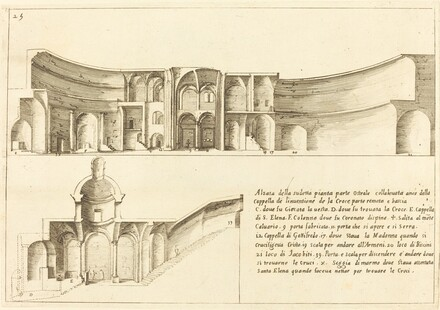 Elevation of the Chapel of the Invention of the Cross