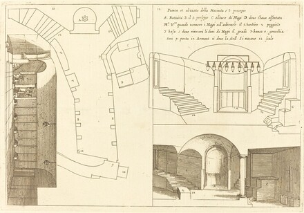 Plan and Elevation of the Church of the Holy Nativity
